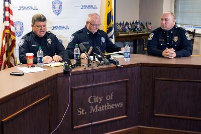 #1027/1028 St. Matthews PD Press Conference (+VIDEO) 12/30/15
