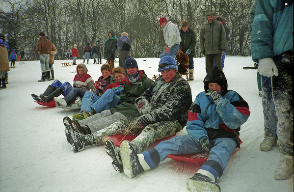 Snow and Sledging