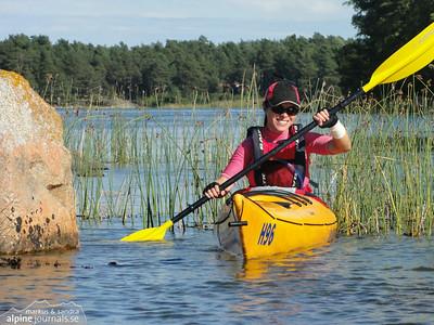 Värmdö Kayaking, Stockholm Archipelago 2010