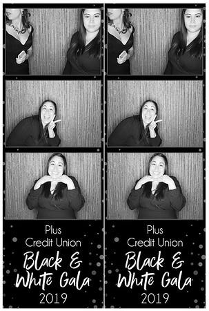 Plus Credit Union Black & White Gala 2019