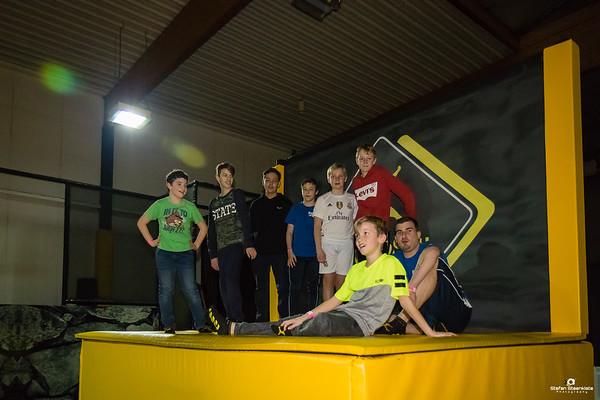 03/02/2018: U15G goes Jumpsky Lochristi (selectie)