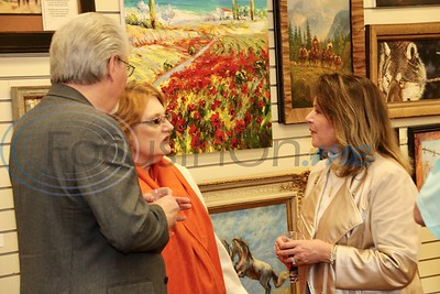 2/8/19 Gold Leaf Gallery Hosts Palette Of Roses Art Exhibit by Jim Bauer