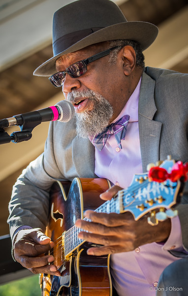 Bill Sims Jr.--Heritage Blues Orchestra--Rock Bend Folk Festival 25, St. Peter MN.