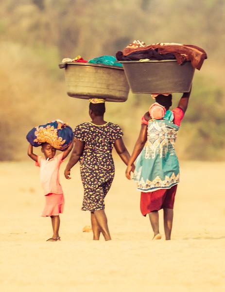 Doing Laundry in Zimbabwe