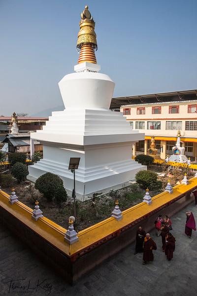 Dro-dul Chorten, Sikkim, India