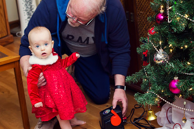 Ava's first Christmas