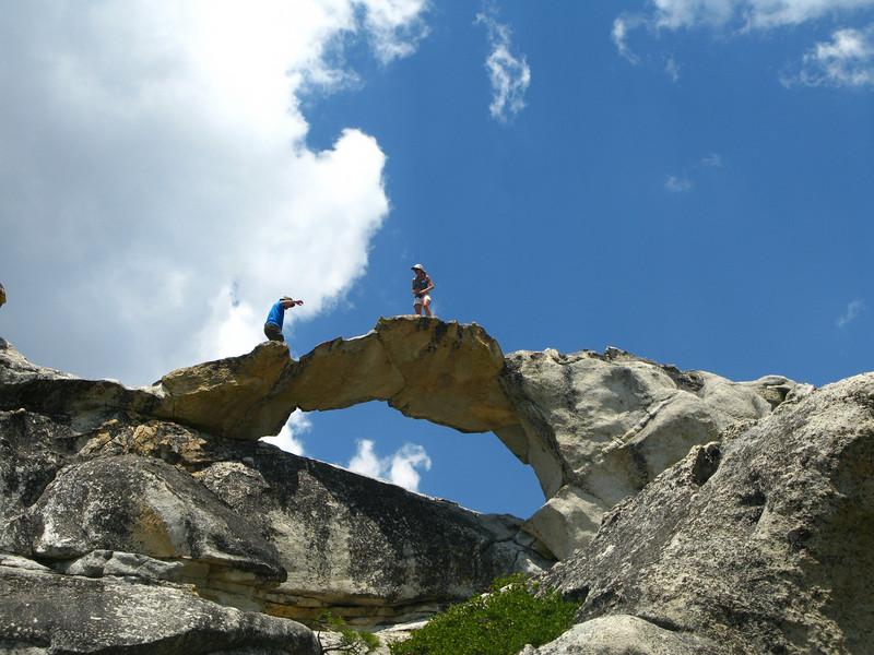 Jim and Karen at Indian Rock