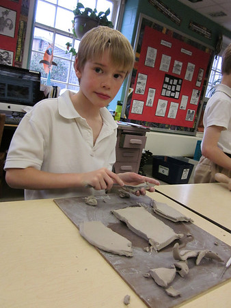 3rd Grade Clay Animal Puppets