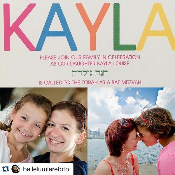 We love you too @bellelumierefoto ! ・・・ It's been 4 years and 2 vacations together since I met the Keats, very soon my little sister and her family will be celebrating her Bat Mitzvah and I'm so sad I can't be there with you all. Just know @kaylakat25 tha