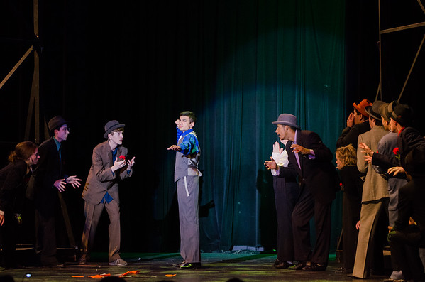 Guys and Dolls Dress Rehearsal - Tuesday