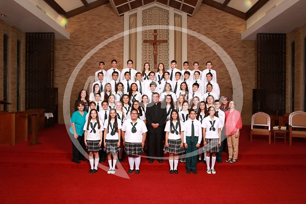 St Gregory 8th Grade Class of 2015