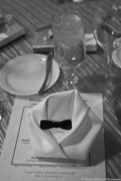 December 21, 2009  Table setting from my works holiday party. I totally recommend the White House restaurant in Anaheim, CA.