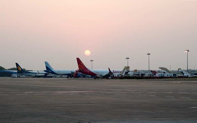 India: Domestic airlines, 2012
