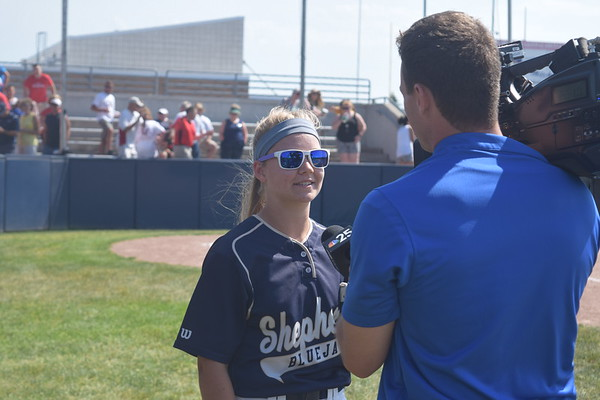 MS - Shepherd softball wins D3 quarterfinal