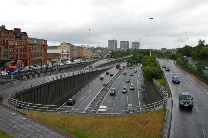 M8 in Glasgow
