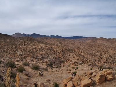 Chaparrosa Peak - Pipes Canyon 12.25.12