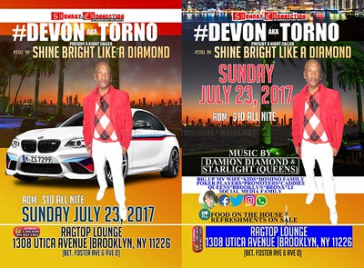 """DEVON aka TORNO """"BIRTHDAY / SUNDAY CONNECTION""""(15)"""
