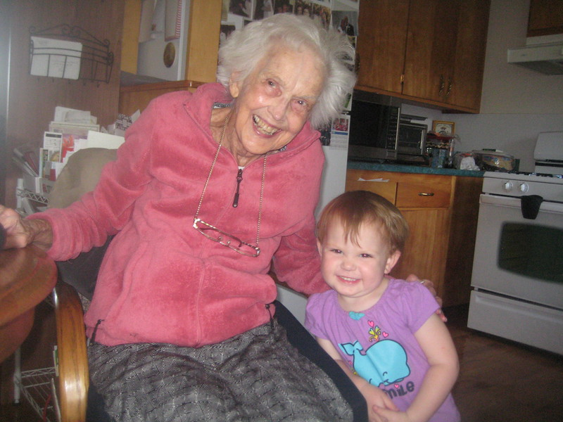 Laura and grandmother 2012.JPG
