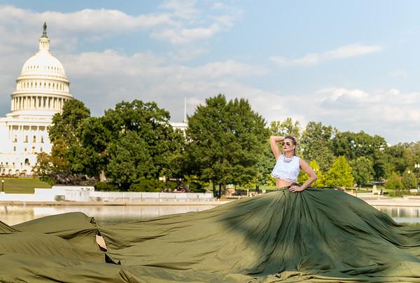 Parachute Dress -  Capital Building