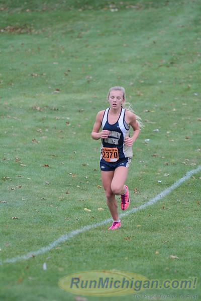 Girls JV 1.7 mile - 2015 Oxford Invite XC