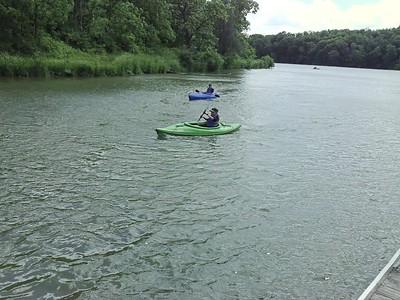 Kayak Outing June 2016