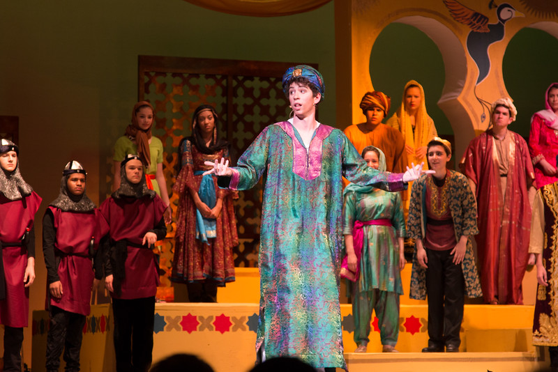 "Hajj (""Gesticulate"") --Kismet, Montgomery Blair High School spring musical, April 15, 2016 performance (Silver Spring, MD)"