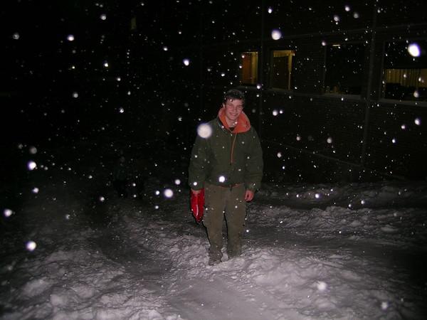 December 8th, 2005 -- Sledding