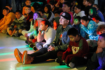 DJ IZ Avila visits Marina Vista Elementary School