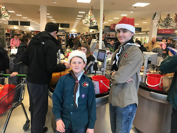 Waitrose bag packing