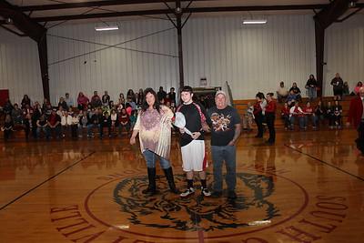 South Coffeyville Senior Night