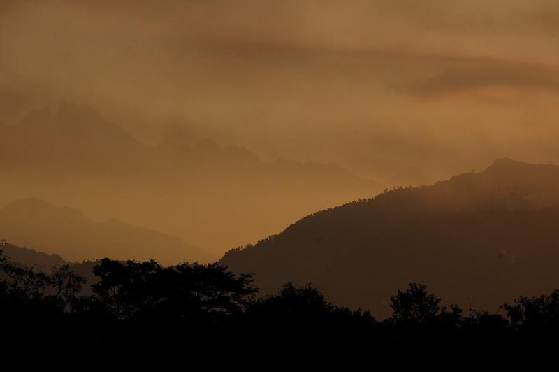 Sunrise at Pokhara.