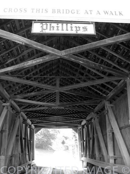 Covered Bridges (B & W)