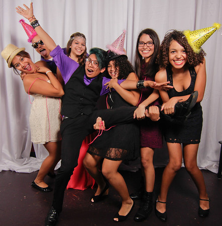 Ariel's Sweet 16 Photo Booth