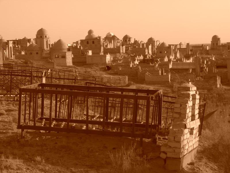 Mizdahkan Cemetery - Nukus, Uzbekistan