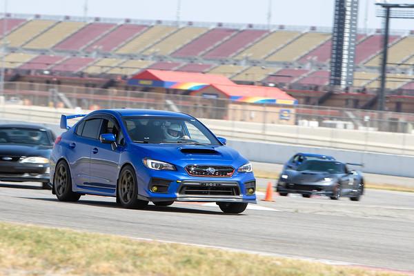 Custom Gallery - Blue Subaru WRX STI