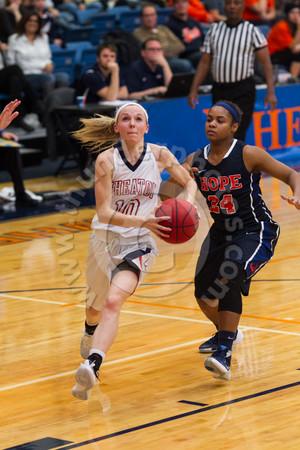 Wheaton College Women's Basketball vs Hope College , November 24, 2015