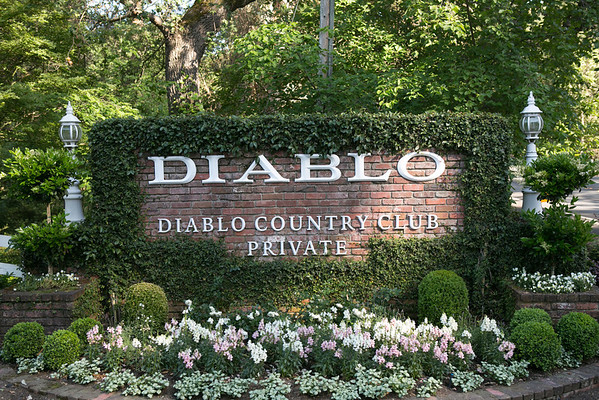 Diablo Country Club Chevron Event Set Up