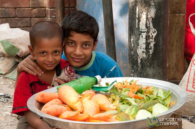 Brothers as Vegetable Vendors - Dhaka, Bangladesh