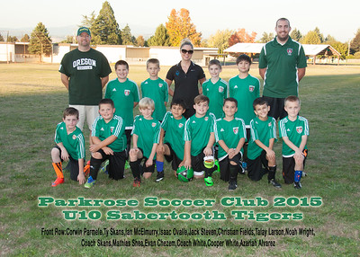 U10 Sabertooth Tigers