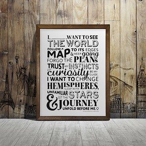 Maptia Travel Manifesto | Top Gifts for Travelers