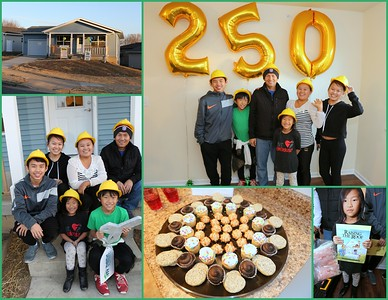 Xy & Ma's Family Home Dedication - Habitat's 250th Celebration
