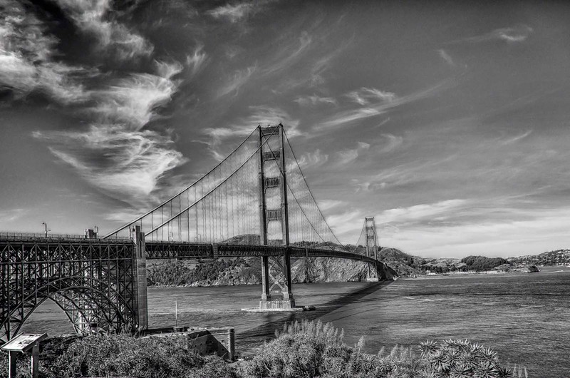 Bridge in Monochrome