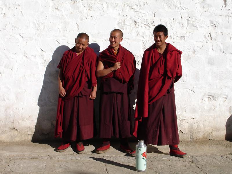 young monks at Sera Monastery, Tibet
