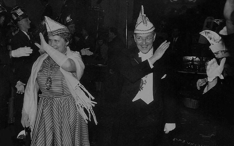 Burgemeester Hustinx en zijn echtgenote