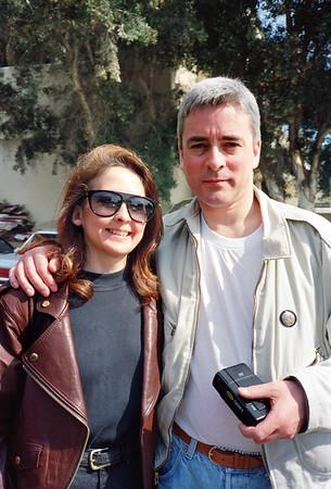 Tim Woodward & Jude Wild, 1990