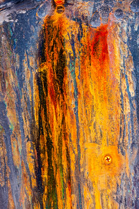 Patinas of Rust and Corrosion