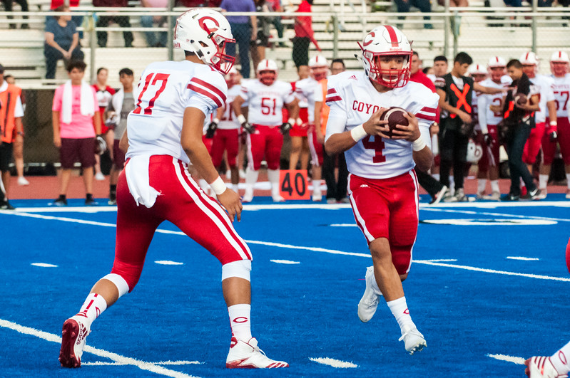 Sept. 28, 2017 - Football - La Joya vs Mission - Game Action_LG