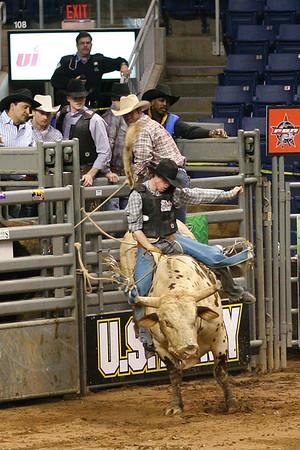 PBR Bull Riding in CT Mar 07