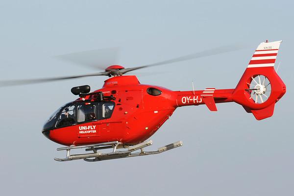 OY-HJT - Eurocopter EC135 T2
