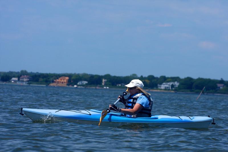 Kayaking from Tiana.